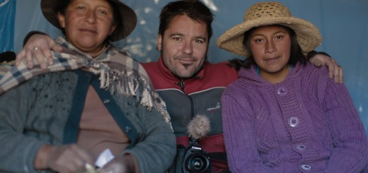 Foto Raul en Bolivia