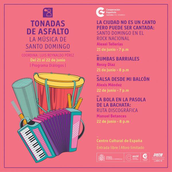 Tonadas de asfalto:La música de Santo Domingo