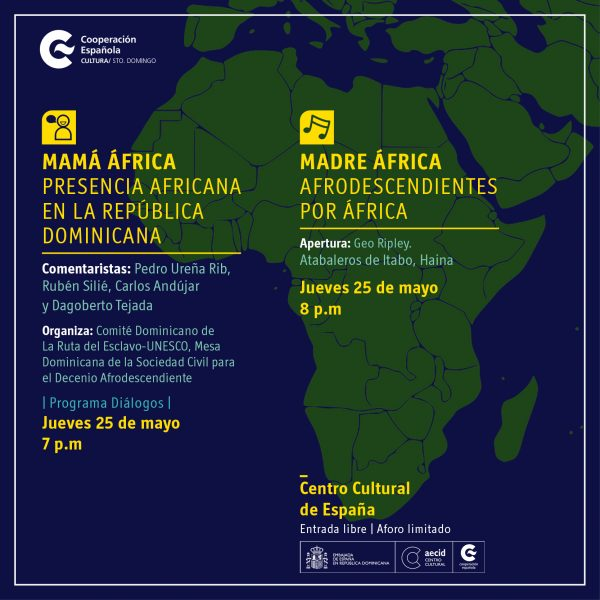 Mamá africa, presencia en la República Dominicana
