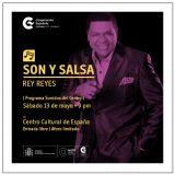 Centro Cultural de España presenta a Rey Reyes en concierto
