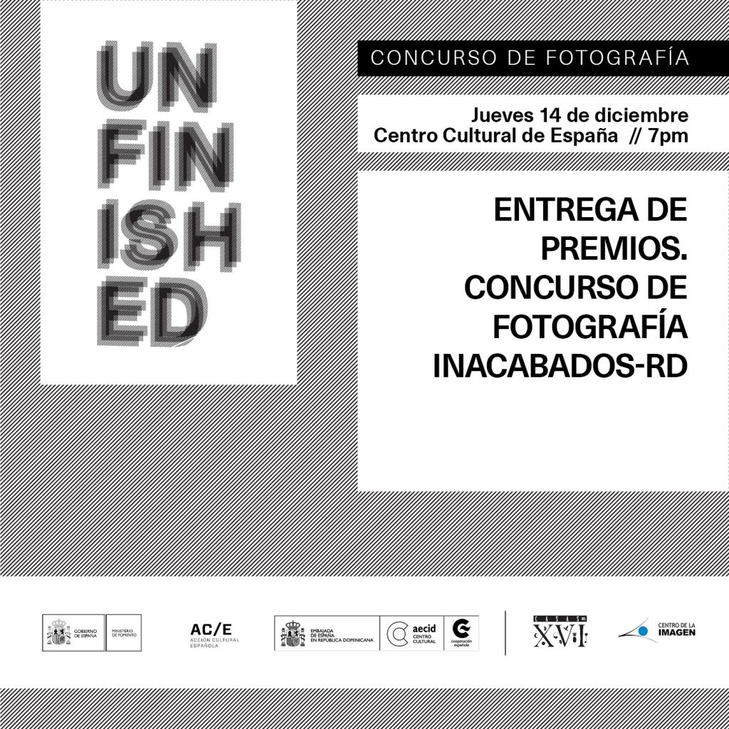 Entrega de Premios Concurso de Fotos #UnfinishedRD